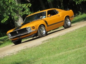 Ford Mustang-1970 a