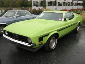 Ford Mustang 71 7 bb