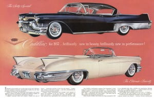 1957 Cadillac Ad-01