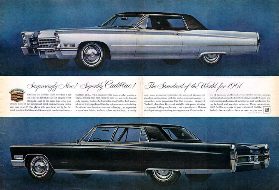 Cadillac 1955 224 1967
