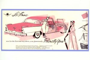 1955 Dodge La Femme advertisment
