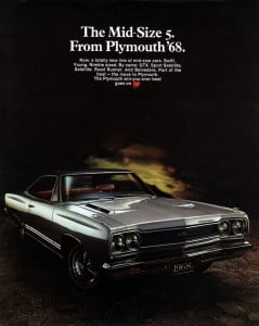 Plymouth Satellite 1968 btochure 1