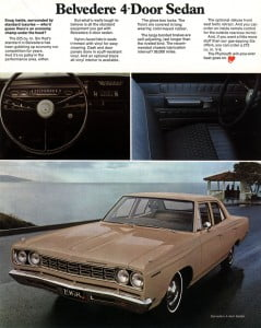 12Plymouth Satellite 1968 btochure