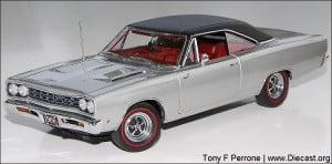 1968 PLYMOUTH ROAD RUNNER  Danbury Mint 1 24
