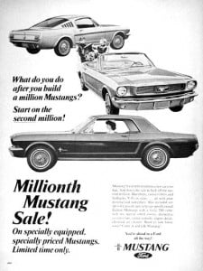 66fordmustangmillionth