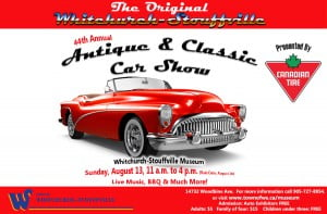 WSMCC  Annual Antique & Classic Car Show @ Whitchurch-Stouffville Museum & Community Centre  | Gormley | Ontario | Canada