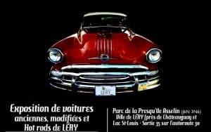 Expositions de voitures de Léry @ Parc de la presqu'île Asselin | Léry | Québec | Canada