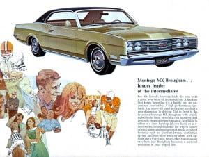 10 Bochure Mercury 1969