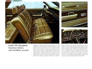 11 Bochure Mercury 1969