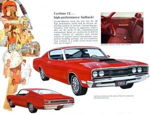 12 Bochure Mercury 1969