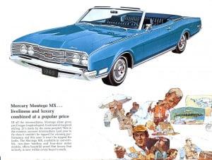 14 Bochure Mercury 1969
