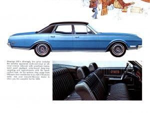 15 Bochure Mercury 1969