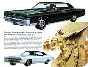 Bochure Mercury 1969