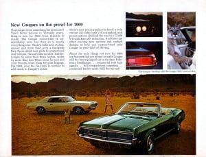 20 Bochure Mercury 1969