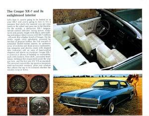 22 Bochure Mercury 1969
