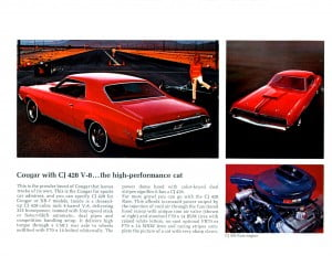 23 Bochure Mercury 1969