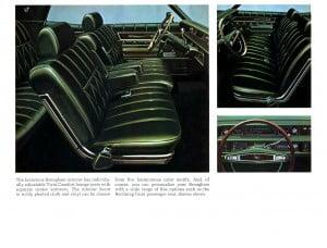 3 Bochure Mercury 1969