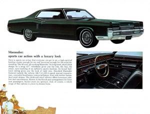 8 Bochure Mercury 1969