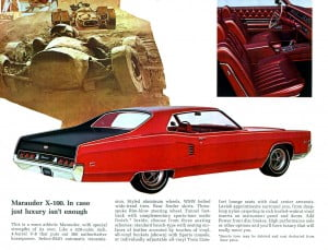 9 Bochure Mercury 1969