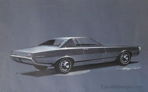 Mercury-T7-Cougar-styling-proposal