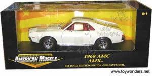 American Mucsle AMC AMX (1968). 1 18
