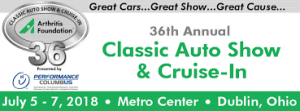 Annual Arthritis Foundation Classic Auto Show @ Dublin Metro Center | Dublin | Ohio | États-Unis