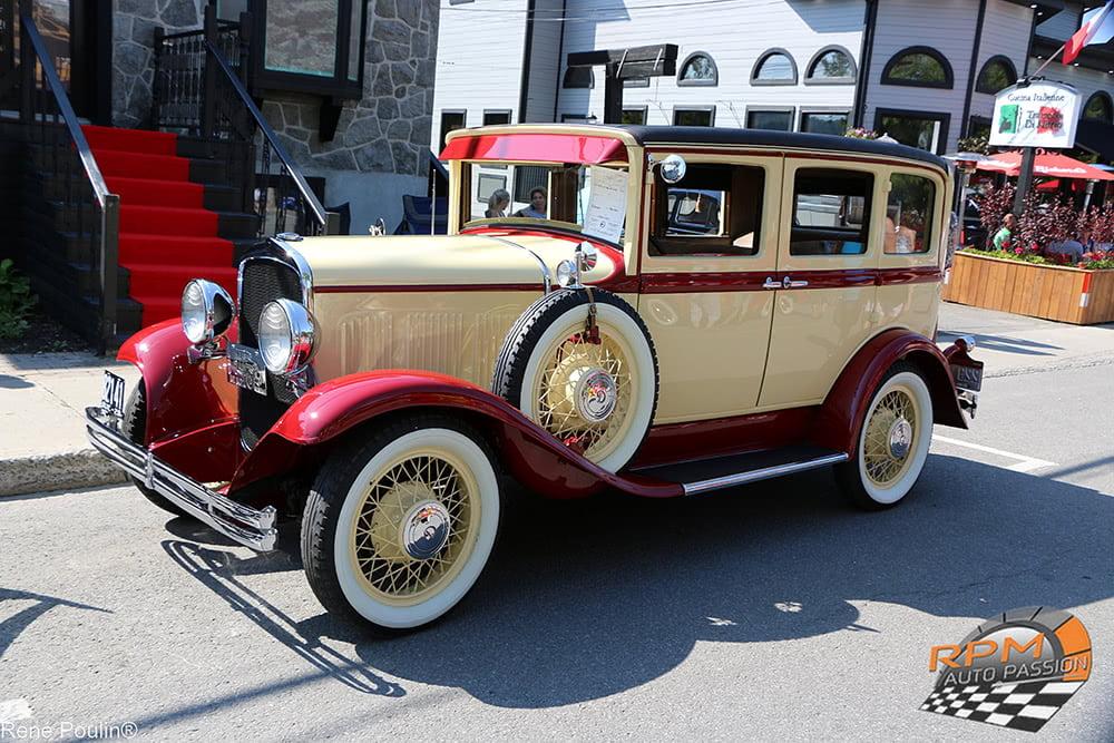 exposition de voitures anciennes saint-sauveur 2018