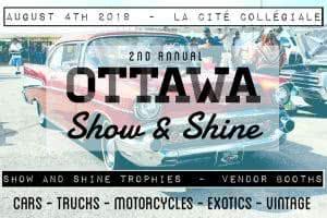 Ottawa Show & Shine @ La Cité