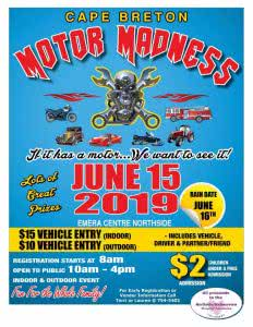 Cape Breton Motor Madness @ Emera Centre Northside