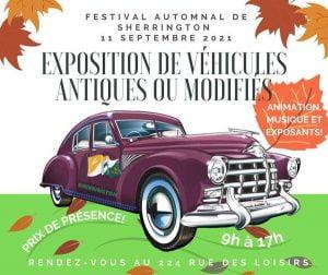 Exposition de véhicules antiques et modifiés de Sherrington @ Sherrington