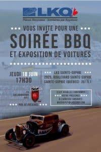 Soirée BBQ LKQ Ste-Sophie @ pin LKQ Canada - Lecavalier Auto Parts