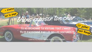 Événement rétro @ Pont-Rouge