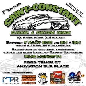Exposition de vieilles voitures de St-Constant @ St-Constant