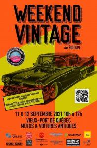 Weekend vintage (Annulé) @ Vieux port de Québec